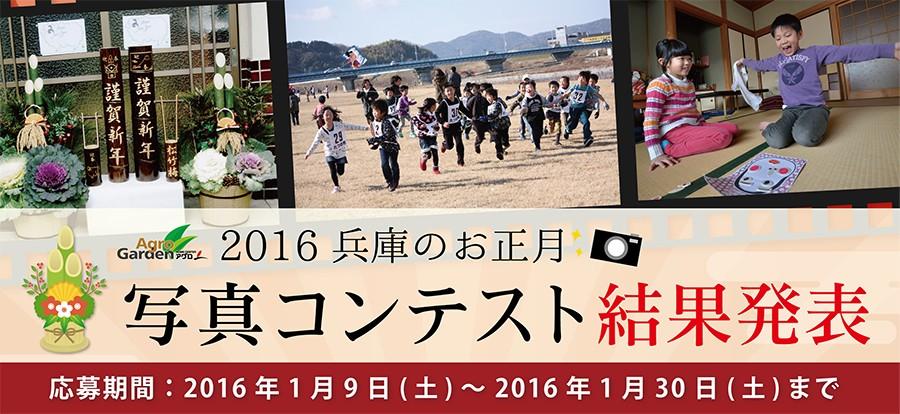 2016 兵庫のお正月写真コンテスト 結果発表
