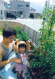 「家族でエンジョイ家庭菜園♥」