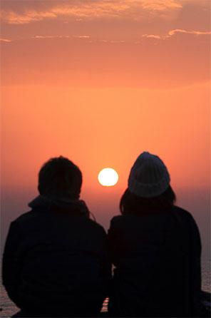 『 愛の初日の出 』