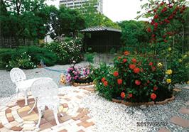 「手作り庭のガーデニング」